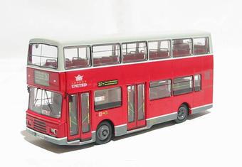 "R903 Volvo Olympian d/deck bus ""London United"""