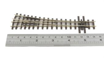 "SL-E495 Mainline Right Hand point 18"" radius with electrofrog"
