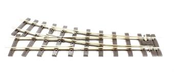 SL-E691 Streamline SM-32 R/H small radius turnout, Electrofrog 369mm (14.5in)