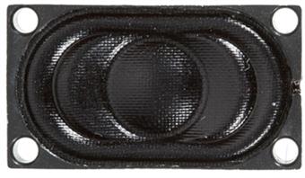STX810112 25mm x 14mm 8 ohm speaker for Soundtraxx / Hornby TTS sound decoders