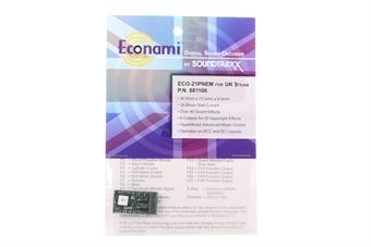 STX881106 Econami Sound Decoder - UK steam - 21 pin