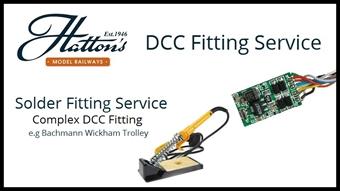 SrvDCCFitNonStandard05 Solder a non-DCC ready complex project (eg Bachmann Wickham Trolley)