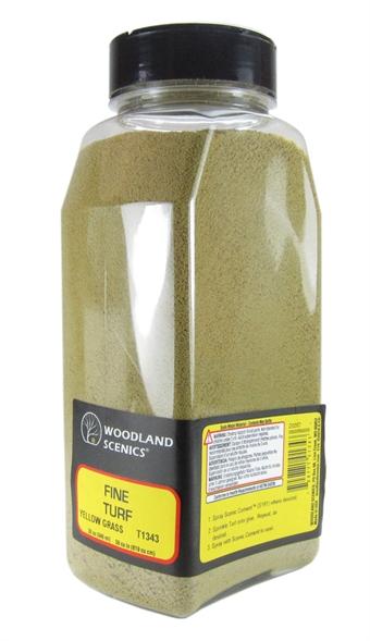 T1343 Shaker Of Fine Turf - Yellow Grass