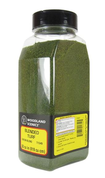 T1349 Shaker Of Blended Turf - Green Blend