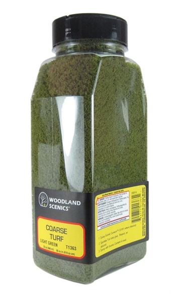 T1363 Shaker Of Coarse Turf - Light Green