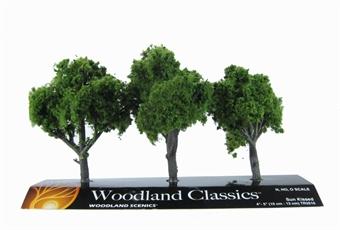 """TR3510 4 - 5"""" Sun Kissed (Medium) Trees - Pack Of 3"""