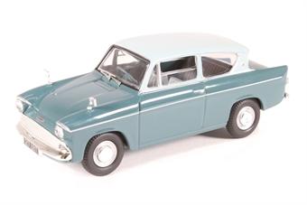 VA00132 Ford Anglia 105E DeLuxe, Pompadour Blue & Shark Blue