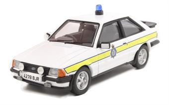 VA11012 Ford Escort Mk3 XR3i - Durham Constabulary