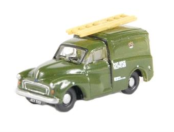 """NMM007 Morris 1000 van in """"Post Office Telephones"""" green"""