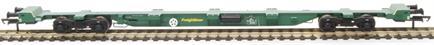 H4-FEAE-004A FEA-E intermodal wagon 641058 in Freightliner green