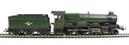 "R2850 Castle Class 4-6-0 ""Ince Castle"" 7034 in BR Green"