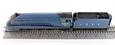"R3095 Class A4 4-6-2 60012 75th Anniversary ""Commonwealth Of Australia"" in Coronation Garter Blue"