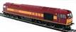 R2488 Class 60 60026 in EWS livery