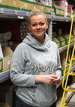 Agnieszka  - Floor Manager